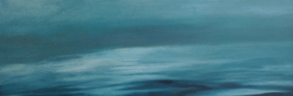Ocean , oil on canvas, 1020x350mm, 2005, sold (private collection U.S.A)