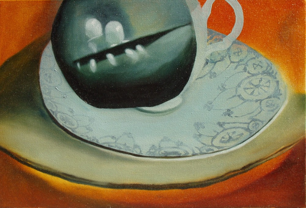 A Different View , oil on canvas, 550x370mm, 2006, sold