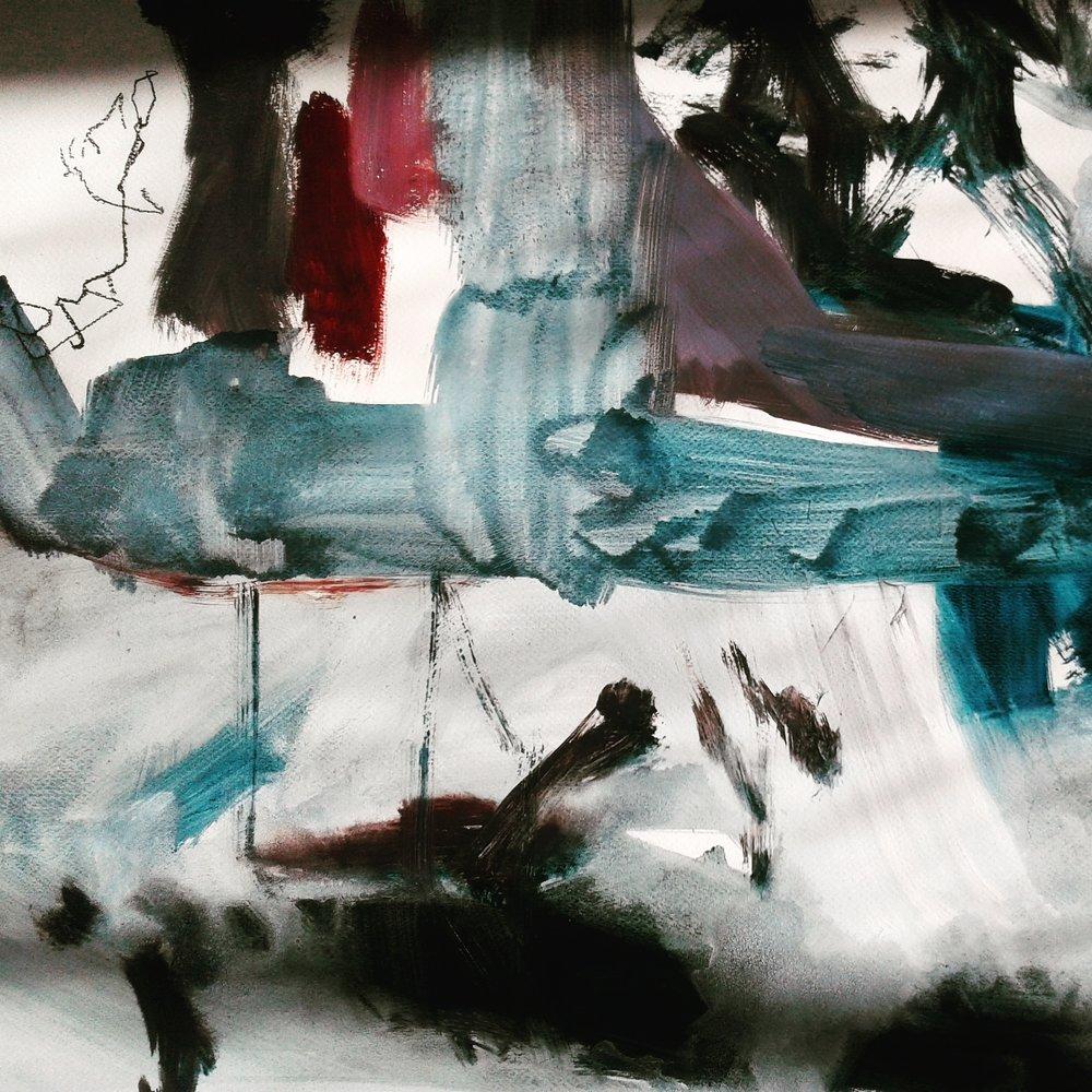 Landscape painting by Amanda Watson