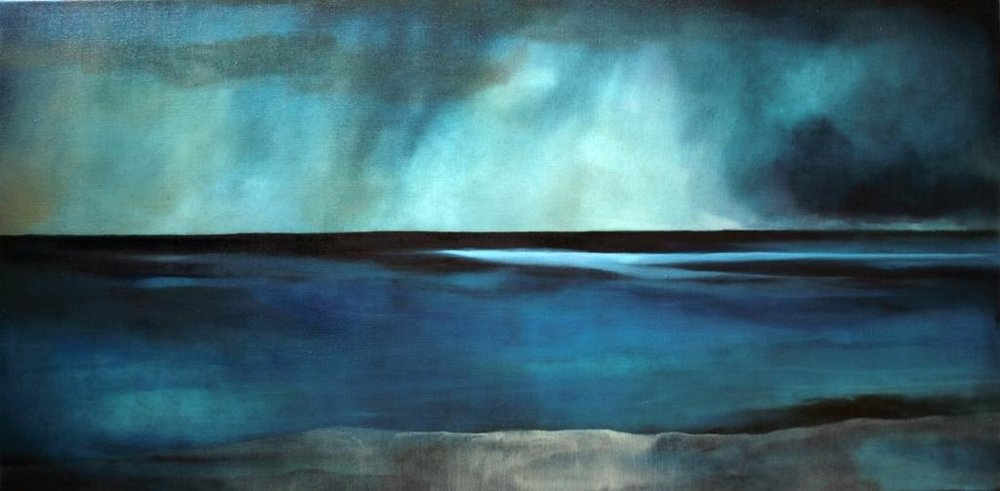 Ocean light colliding