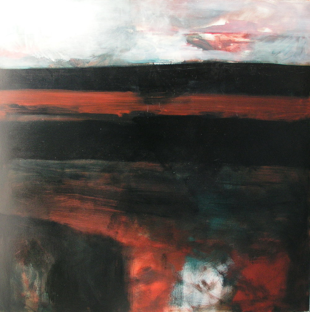 oil on canvas, 1300x1300mm, 1996