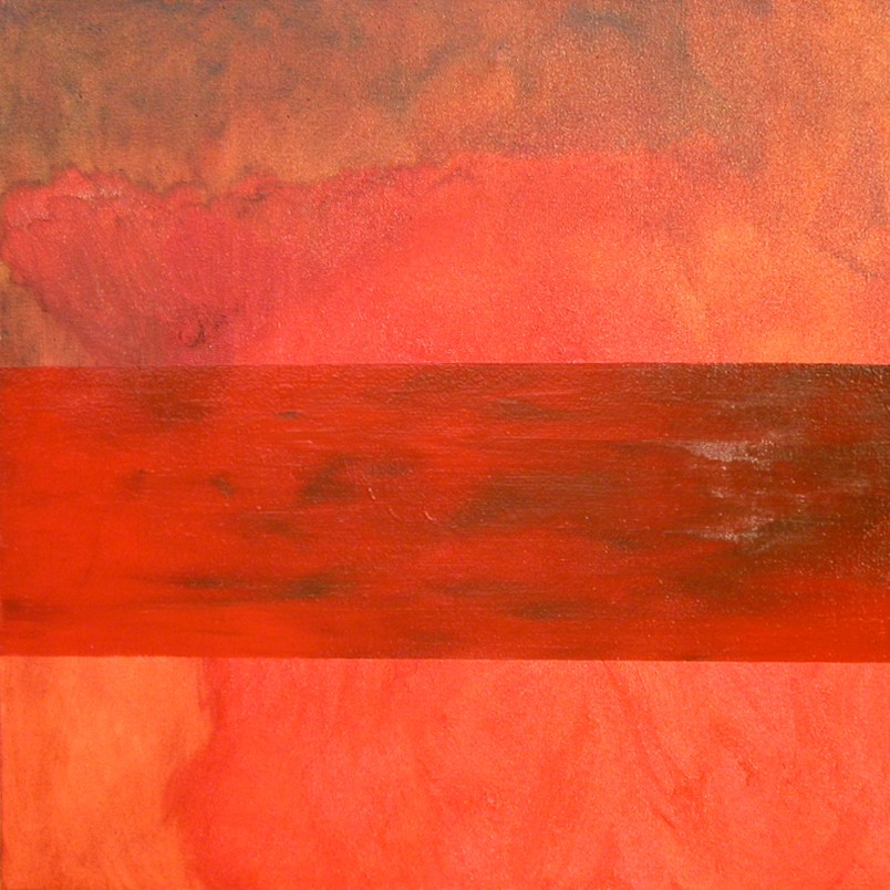 Bled, oil on canvas, 600x600mm, 2003