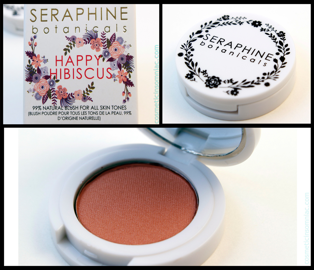 SERAPHINE botanicals blush - Happy Hibiscus 2g/0.07 oz   Full size: 2g/0.07oz   Retails: $18.00 usd