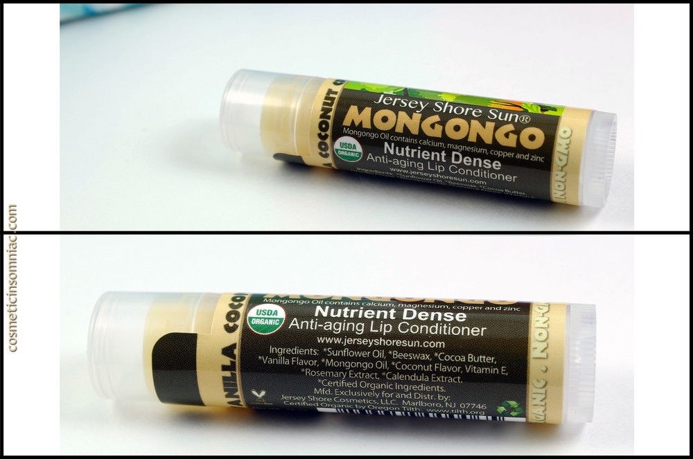 Jersey Shore Sun Mongongo Nutrient Dense Anti-aging Lip Conditioner  Made in USA