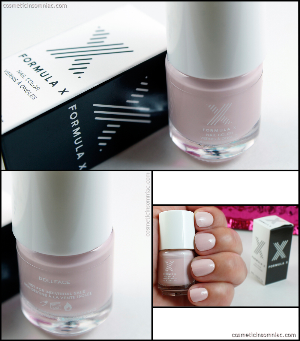 Formula X Nail Color - Dollface  Made in USA