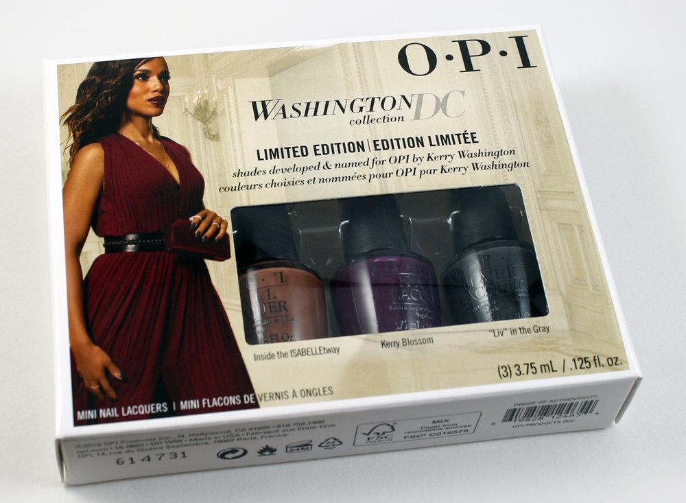 OPI Washington DC Collection 3 PC Mini set
