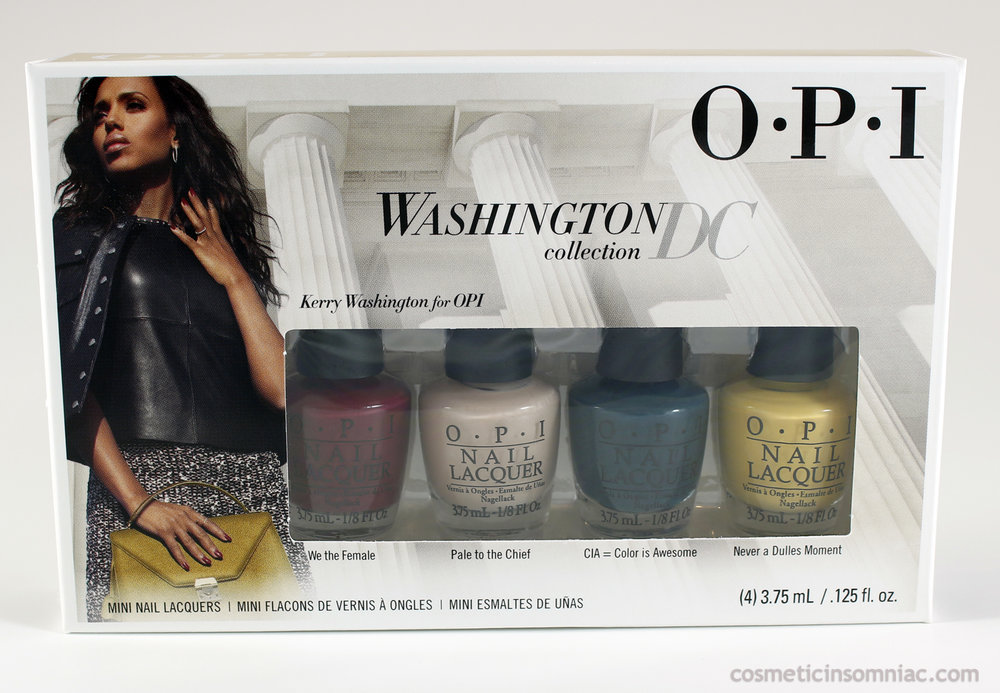 OPI Washington DC collection 4 pc mini set  (click to enlarge)