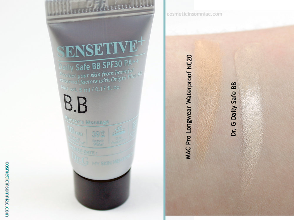 ipsy Glam Bag September 2016  Dr.G Daily Safe BB SPF 30 PA++ - Exclusive (45 ml.)  Made in (Unknown)