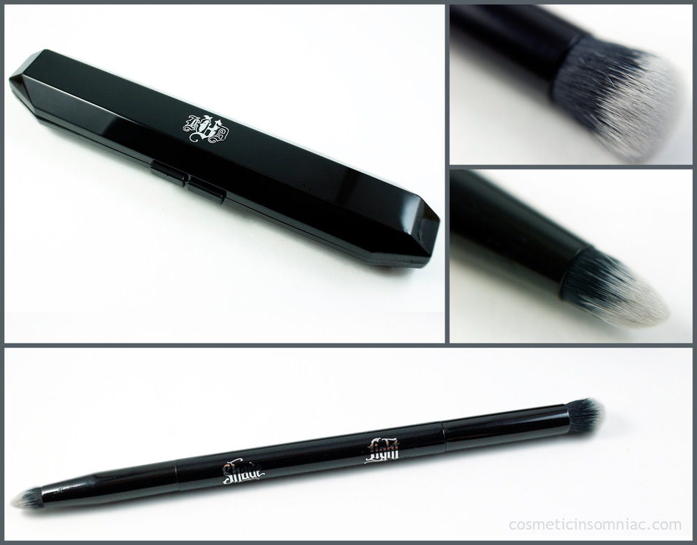 Kat Von D - Shade + Light Obsession Collector's Edition Contour Set  Shade + Light Eye Contour Brush with case