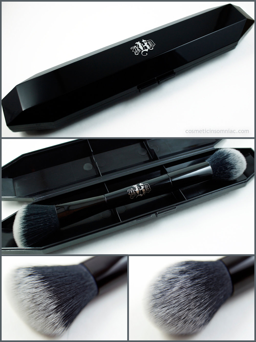 Kat Von D - Shade + Light Obsession Collector's Edition Contour Set  Shade + Light Face Contour Brush with case