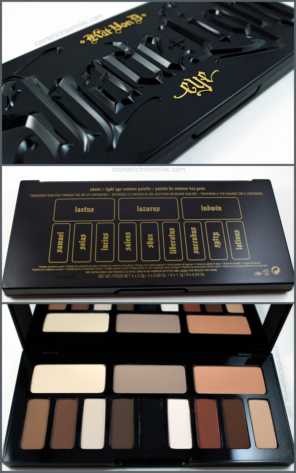 Kat Von D - Shade + Light Obsession Collector's Edition Contour Set  Shade + Light Eye Contour Palette