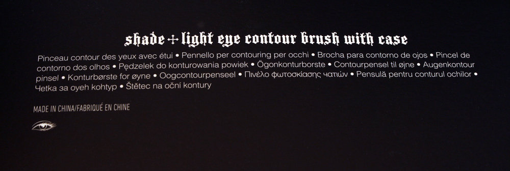 Kat Von D shade and light obsession collector's edition contour set ingredients cosmeticinsomniac_com photo by T_Ipellie