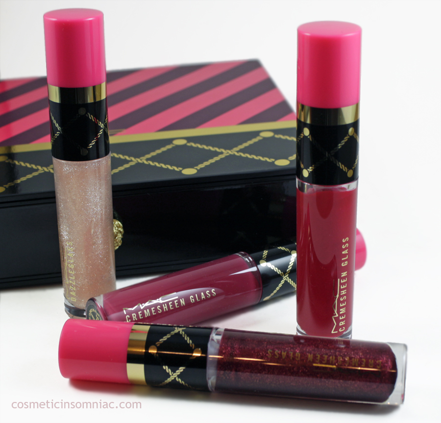 MAC NUTCRACKER SWEET RED LIP GLOSS KIT   (click to enlarge)