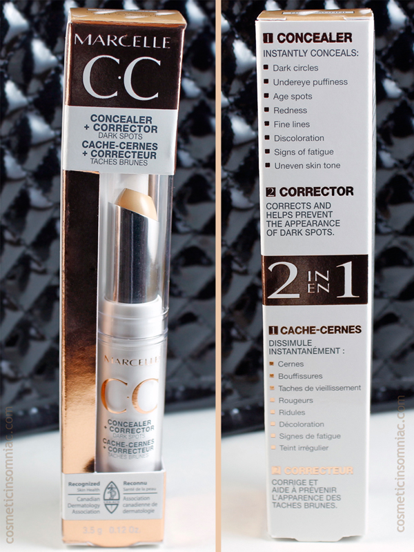 Marcelle CC Concealer + Corrector