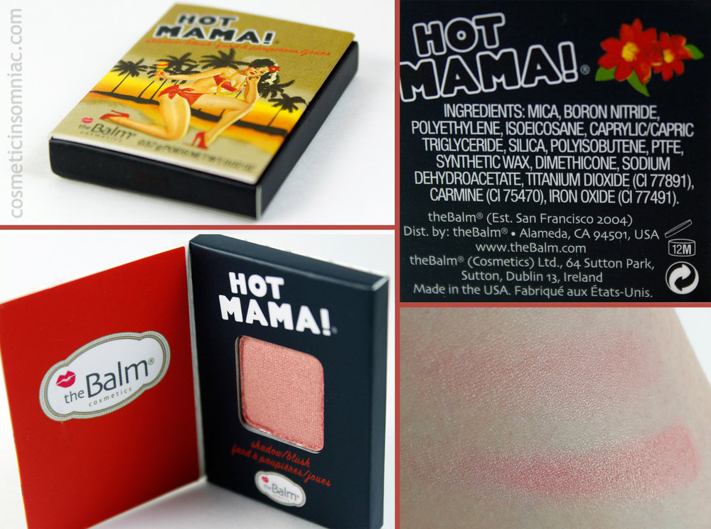 the Balm Cosmetics - HOT MAMA!  (click to enlarge)
