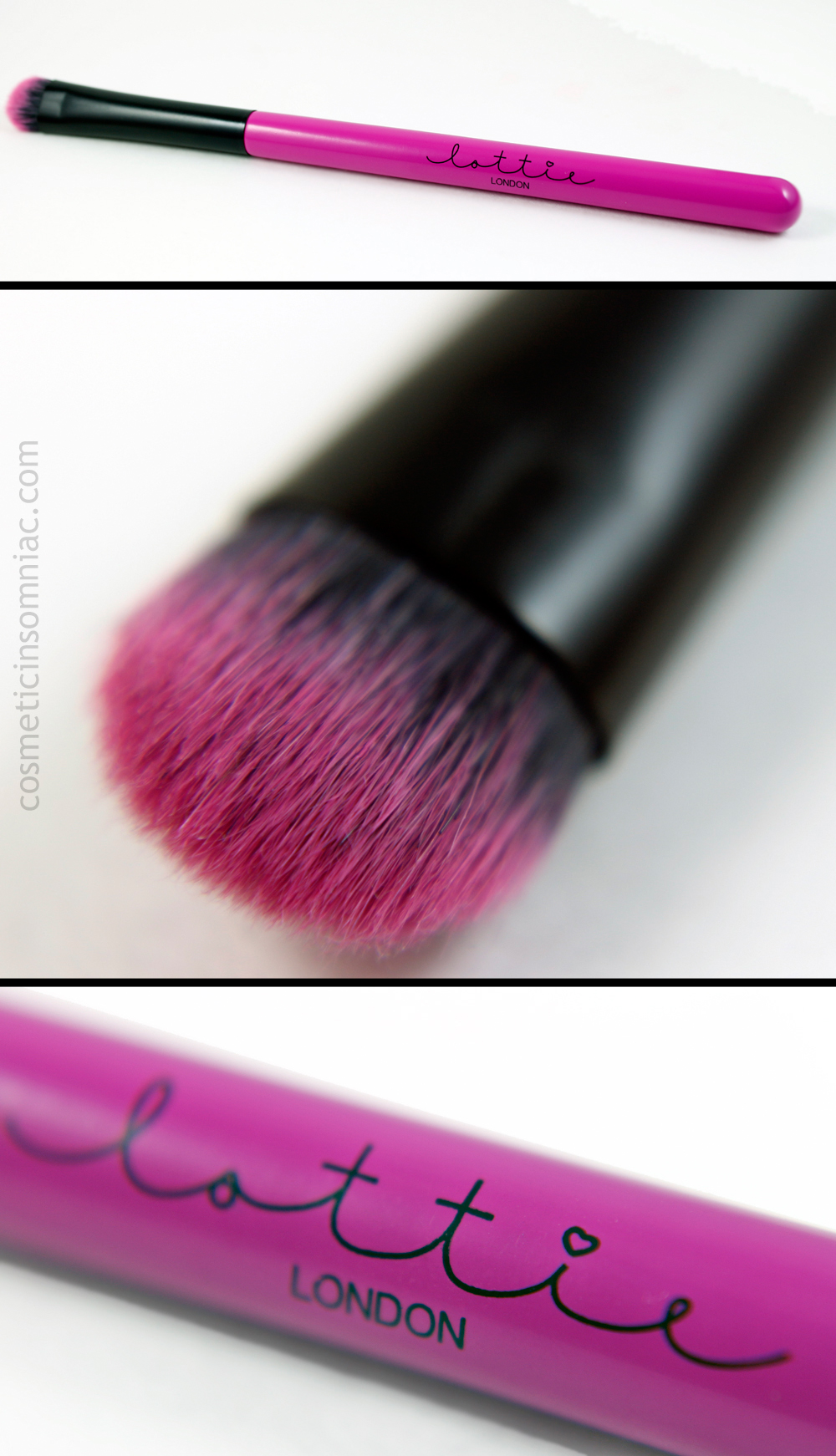 Lottie London - Perfectly Precise Small Eyeshadow Brush  (click to enlarge)