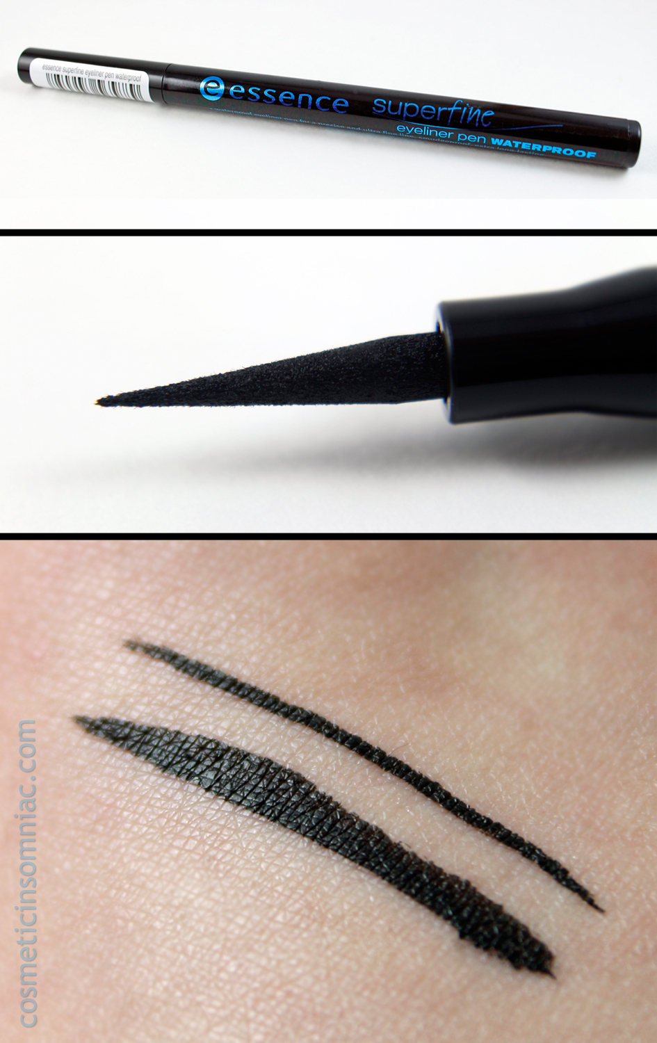 essence superfine eyeliner pen waterproof - black  (click to enlarge)