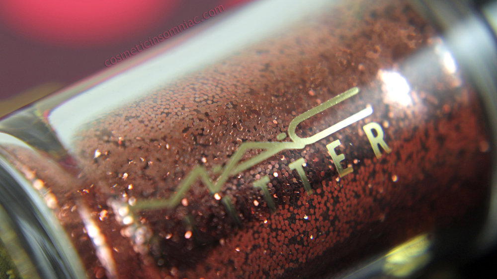 M.A.C NUTCRACKER SWEET BRONZE PIGMENTS & GLITTER KIT    Reigning Riches