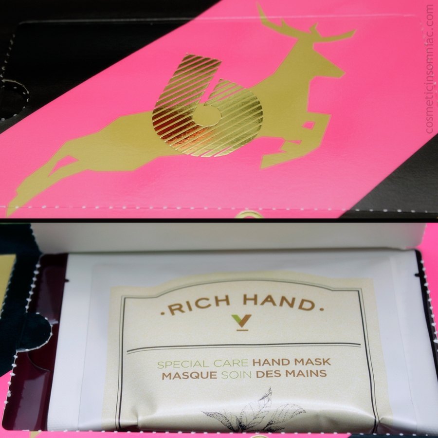 The Face Shop 12 Day Beauty Advent Calendar - 2016    Rich Hand V - Special Care Hand Mask    Made in Korea