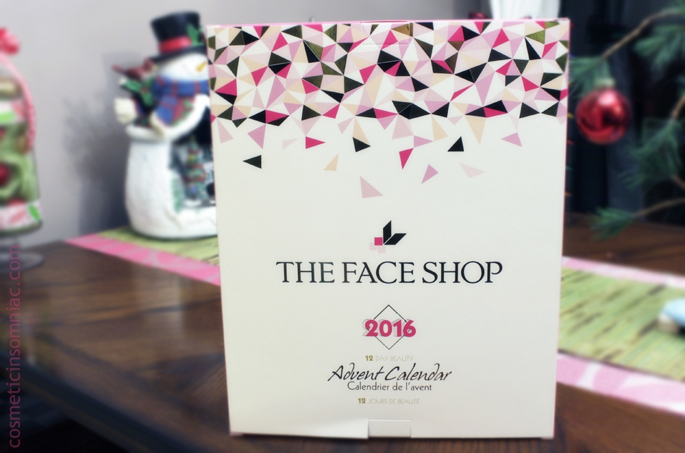 The Face Shop 12 Day Beauty Advent Calendar - 2016  $39.00 CAD