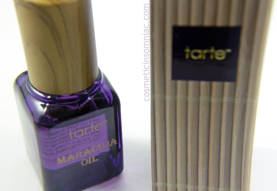 ipsy Glam Bag - December 2016    tarte Maracuja Oil (7 ml)    Made in Brazil, filled in Taiwan