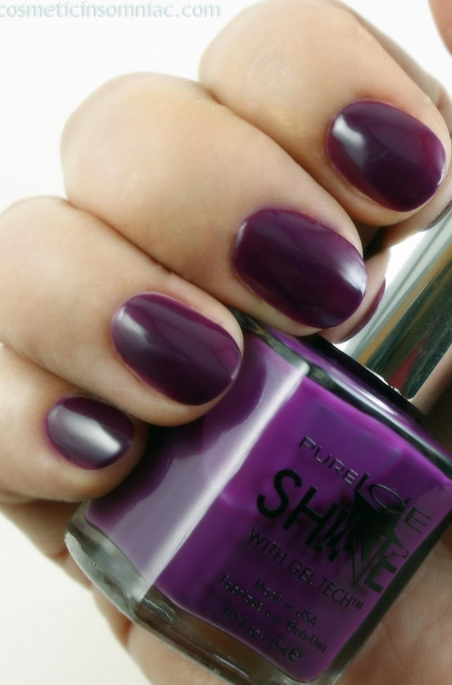 Pure Ice Shine with Gel Tech™ - Shock & Awesome (4 coats)  Fluorescent lighting.