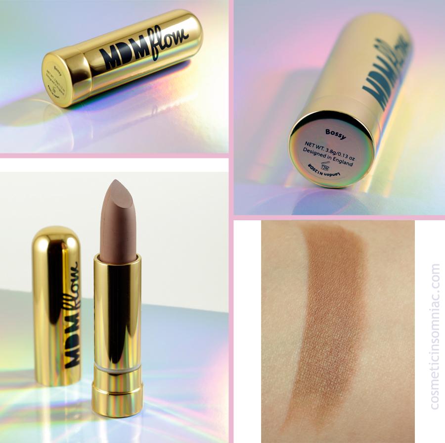 Glossybox December 2016  MDMflow lipstick - Bossy