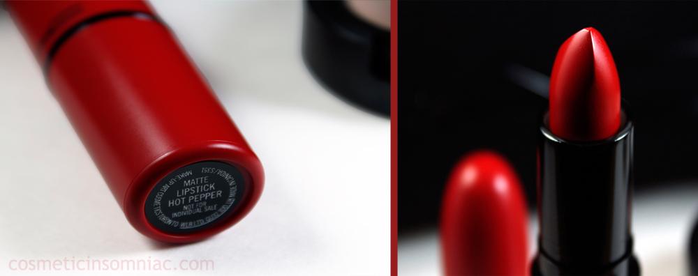 MAC Cosmetics - Look In A Box    Downtown Diva  Lipstick - Hot Pepper (matte)