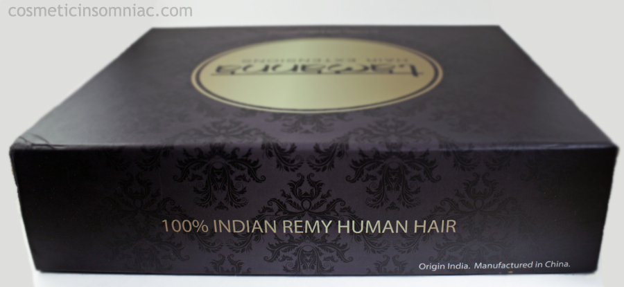 Bombay Hair  Tamanna Ombre Hair Extensions  $350.00 CAD  Box (Side)