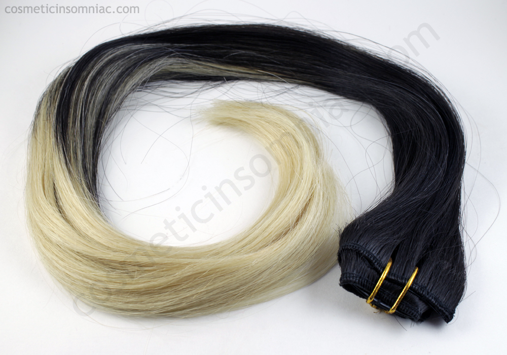 Bombay Hair Tamanna Ombre Black Beauty Extensions Cosmetic