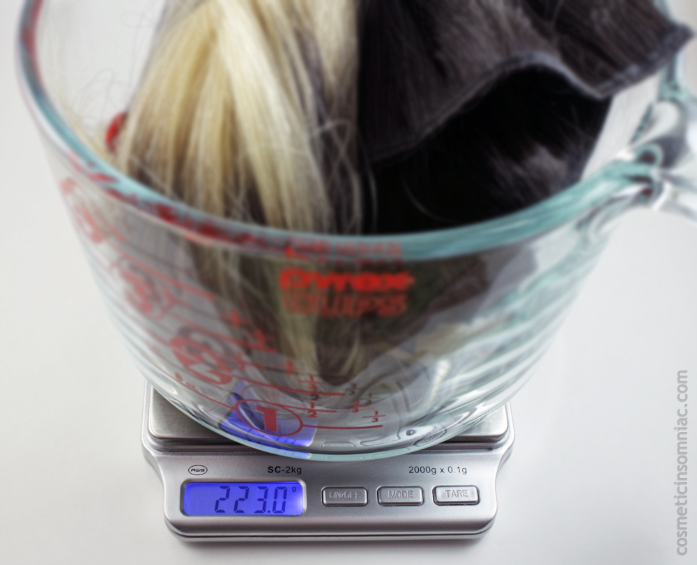 Bombay Hair  Tamanna Ombre Hair Extensions  Total weight of extensions