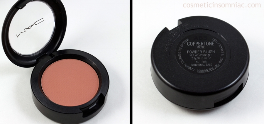 MAC Look In A Box  Face Kit / Natural Flare  Powder Blush - Coppertone (Matte)  Made in Canada