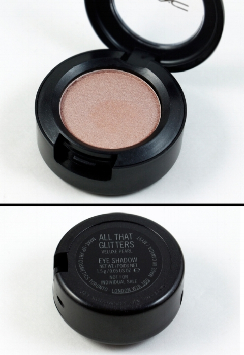 MAC Look In A Box  Face Kit / Natural Flare  Eyeshadow - All That Glitters (Veluxe Pearl)  Made in Canada