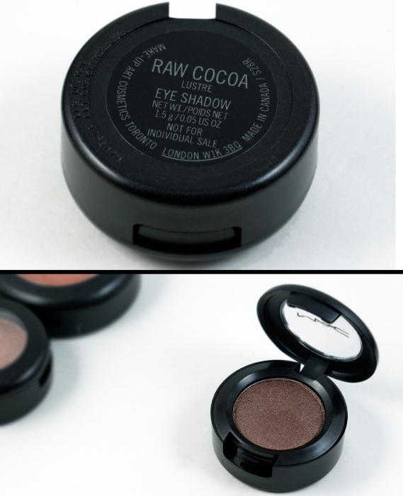 MAC Look In A Box  Face Kit / Natural Flare  Eye shadow - Raw Cocoa (Lustre)  Made in Canada