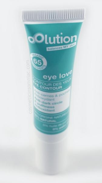 Glossybox     - January 2017   oOlution - eye love  Made in U.E.