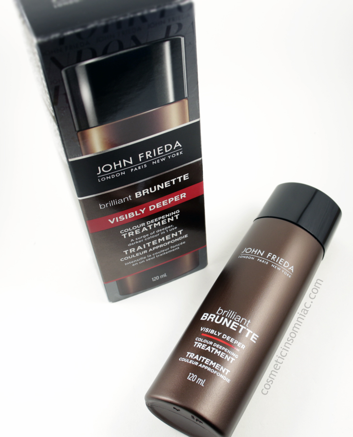 John Frieda Brilliant Brunette - Visibly Deeper  Colour Deepening Treatment  Made in USA