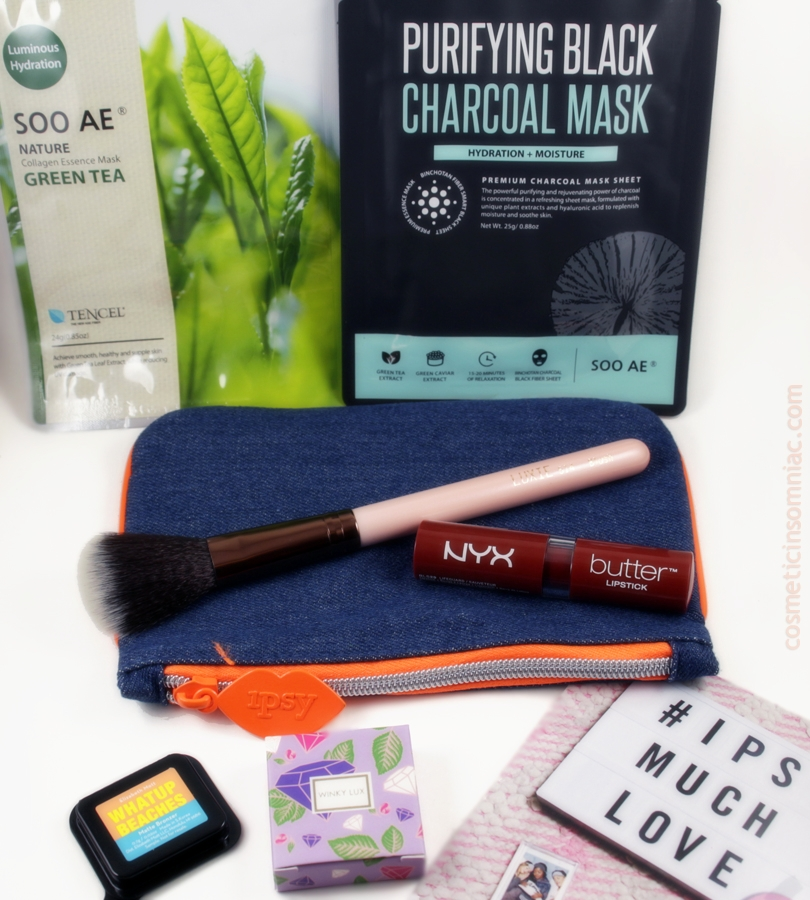 ipsy Glam Bag - February 2017    $10.00 USD + $4.95 USD shipping  per month