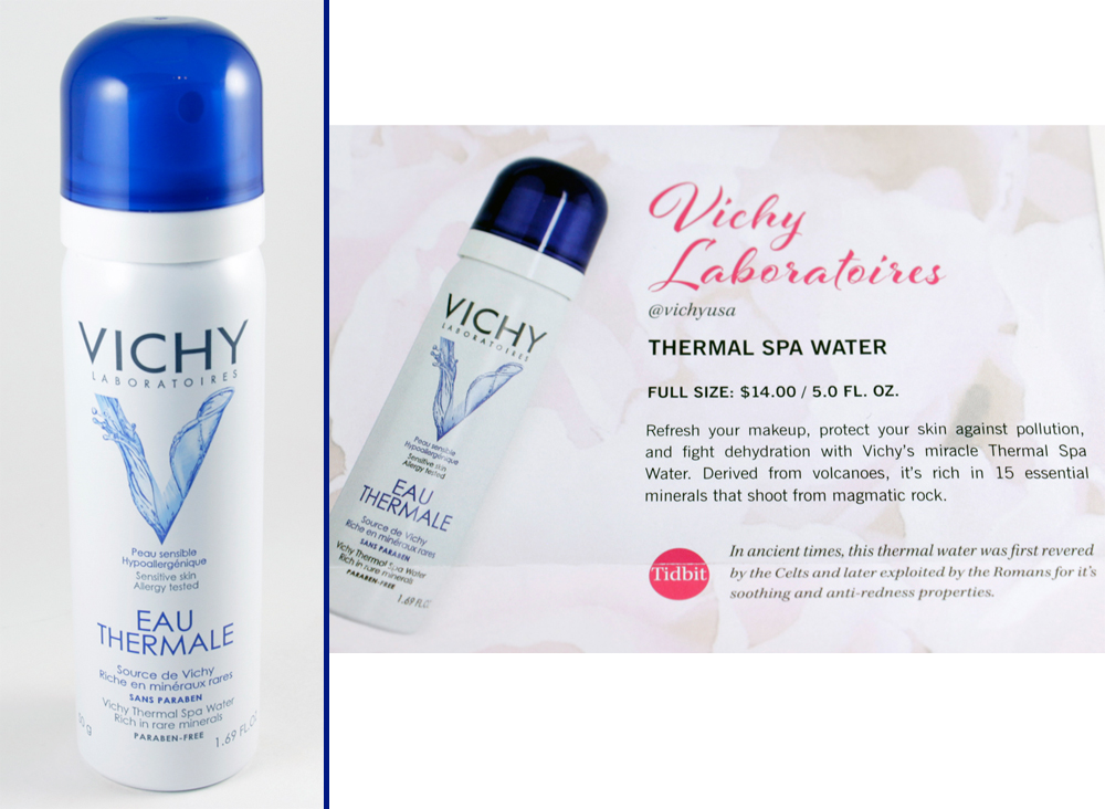 Vichy Laboratoires   Thermale Spa Water