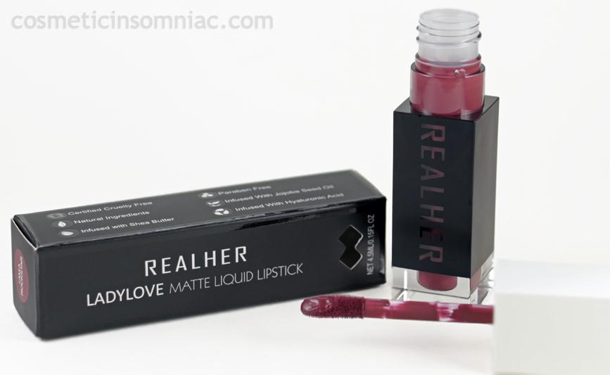 RealHer - Matte Liquid Lipstick - I Am A Rockstar 0.15 fl oz / 4.5ml  $15.00 USD  Made in USA