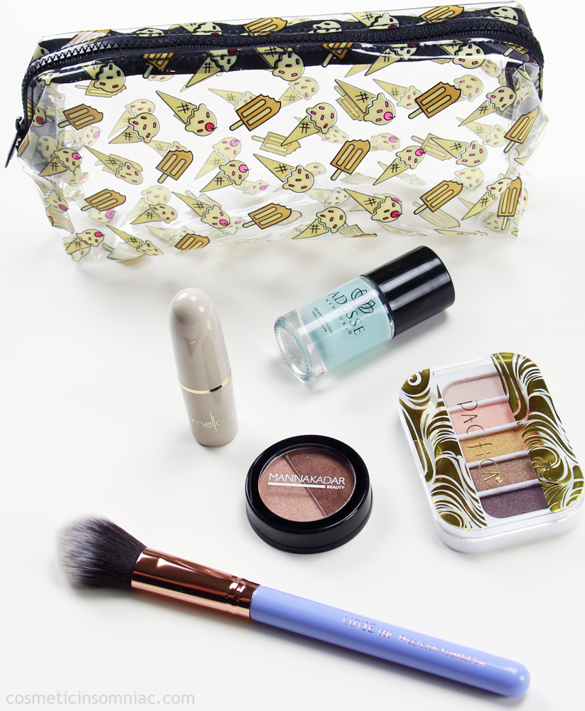 ipsy  Glam Bag  May 2017  $10.00 USD + $4.95 USD shipping (for Canadians)