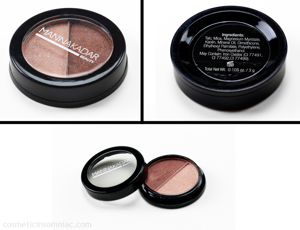 MANNAKADAR Beauty  Radiance Bronzer and Highlighter Duo  $21.00 USD