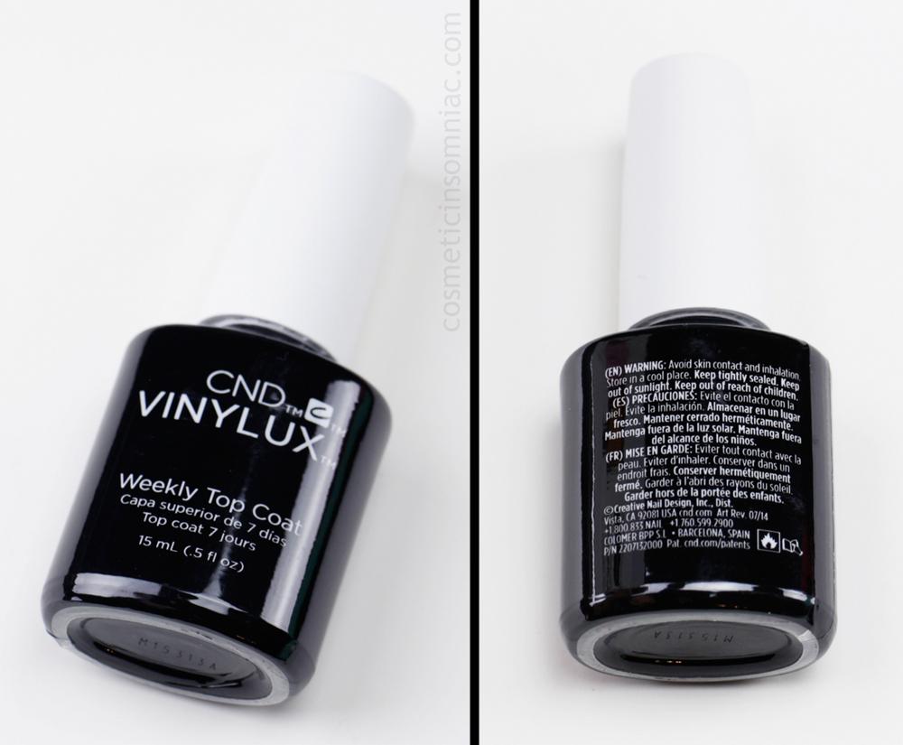 CND VINYLUX - Weekly Top Coat   (15 ml / 0.5 fl. oz.)