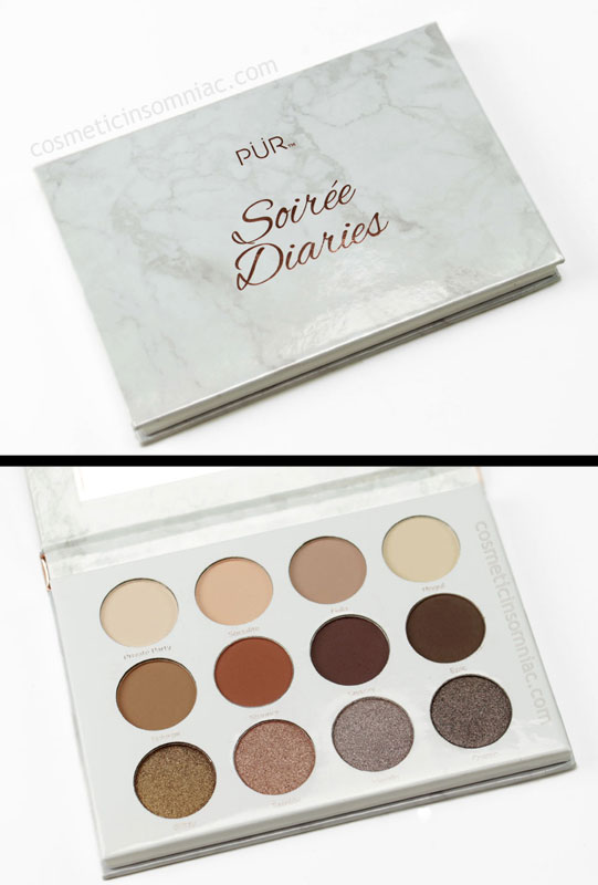 PUR COSMETICS SOIREE DIARIES    $34.00 usd    Made in China