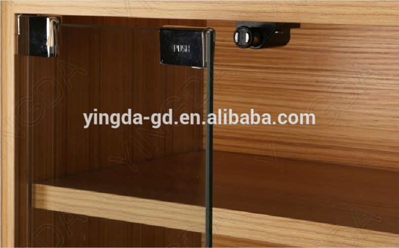 Magnetic Push Latch Example   Photo from alibaba.com (source)