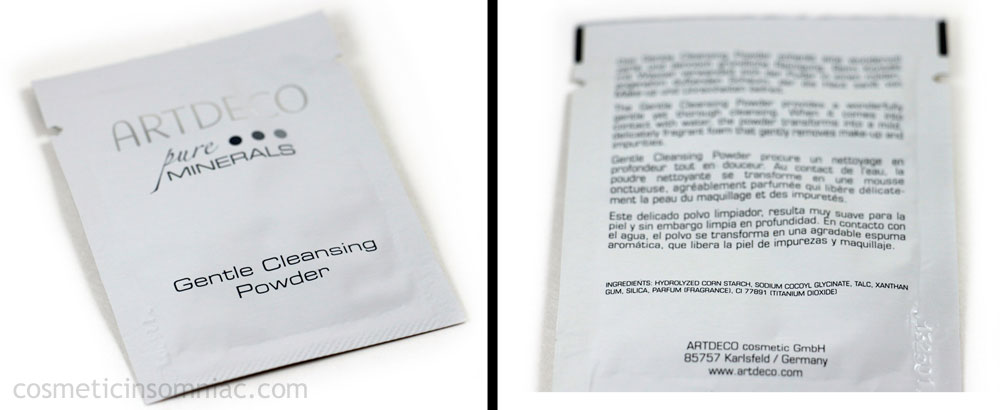 ARTDECO  Gentle Cleansing Powder  Sample Packet