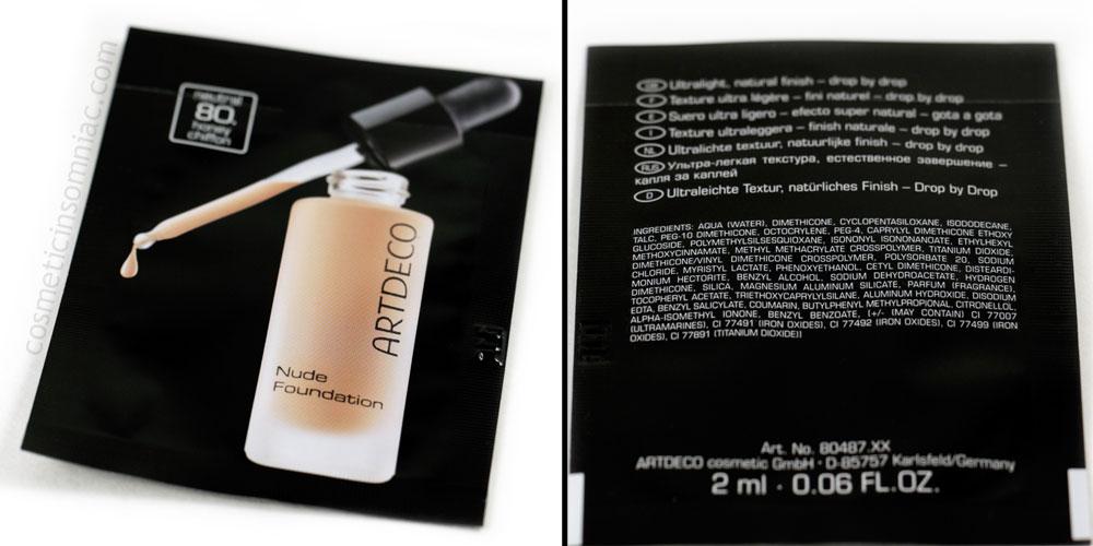 ARTDECO      Nude Foundation - 2 ml Sample Packet