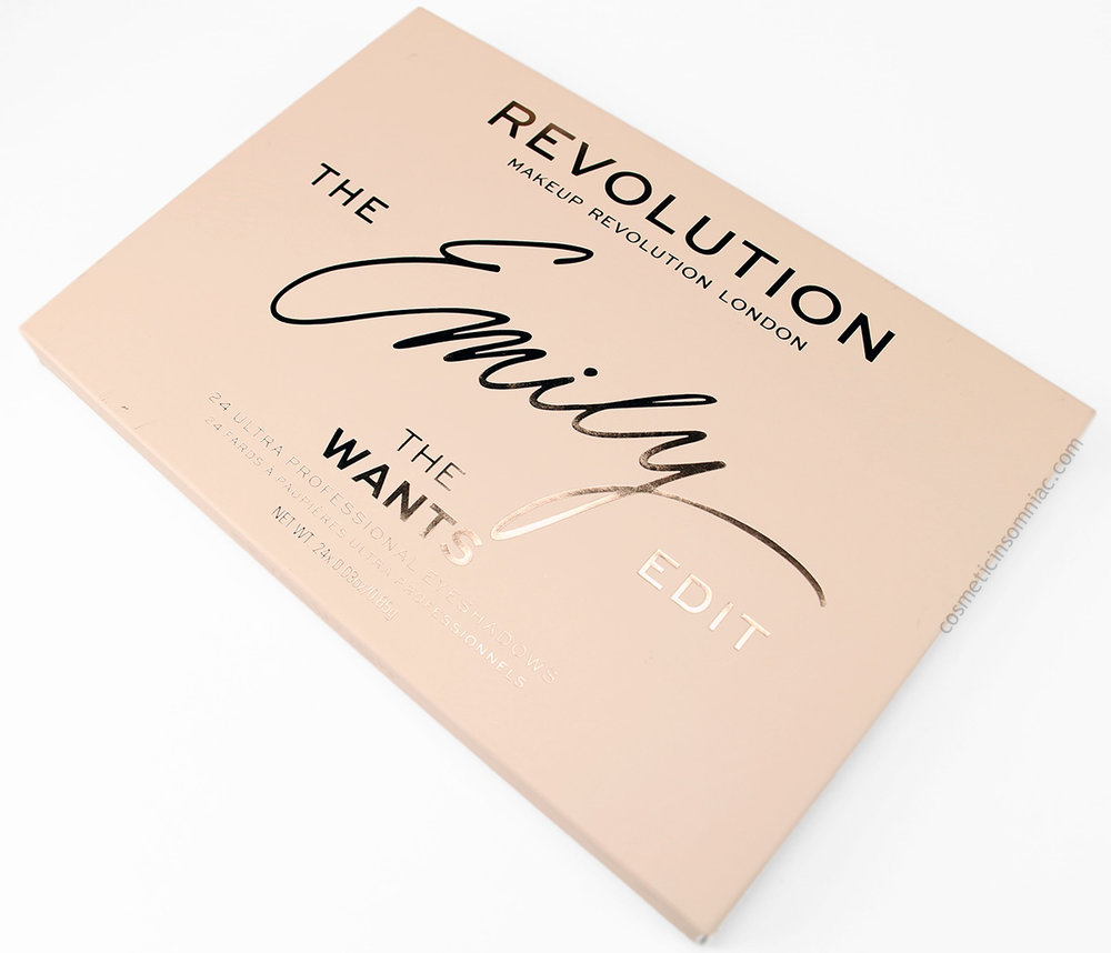 MAKEUP REVOLUTION - THE EMILY EDIT - THE WANTS  $20.00 USD  MADE IN CHINA