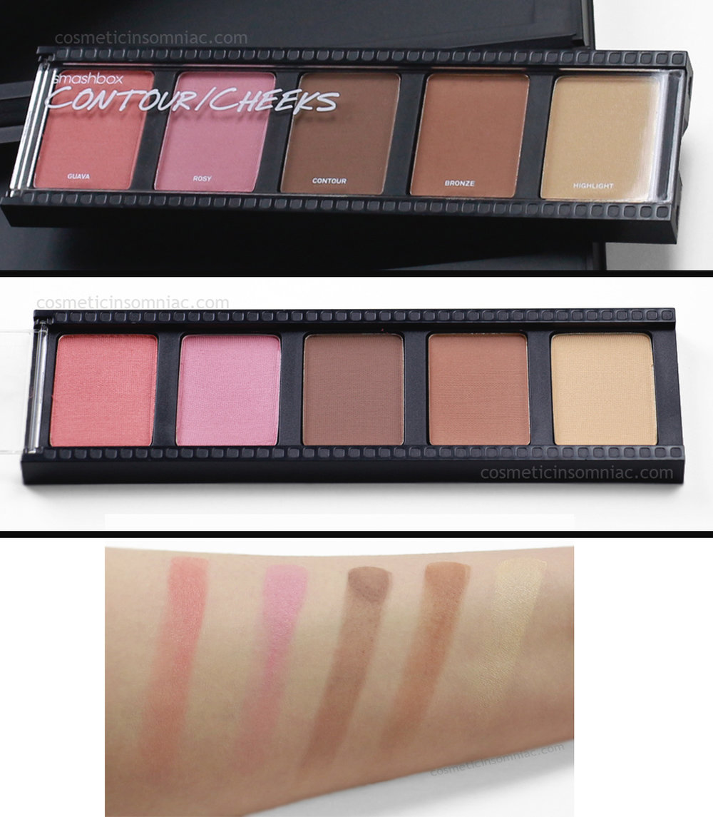 smashbox      Create & Transform Master Class Palette     Contour/Cheeks
