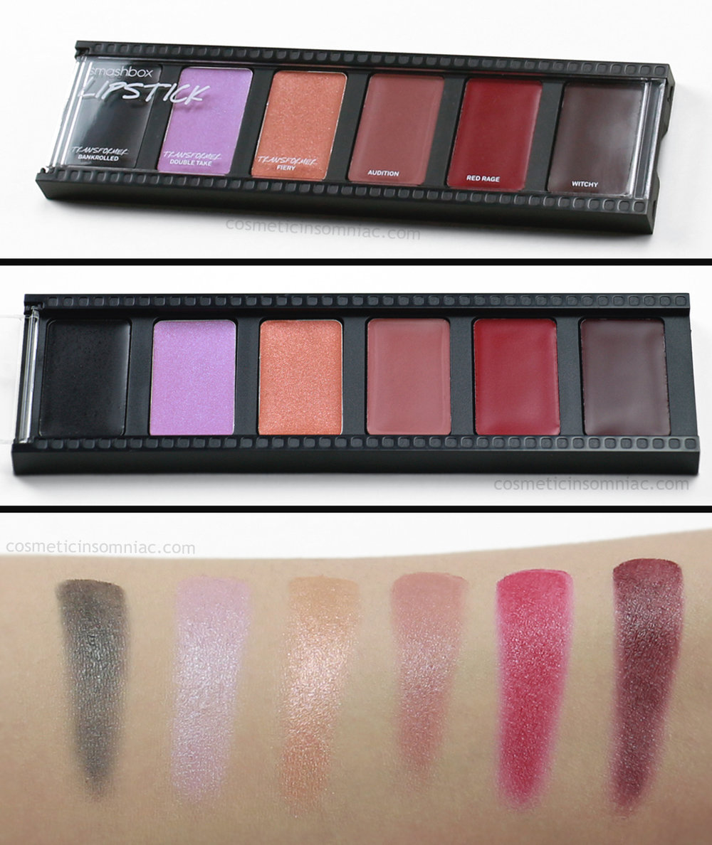 smashbox      Create & Transform Master Class Palette     Lipstick