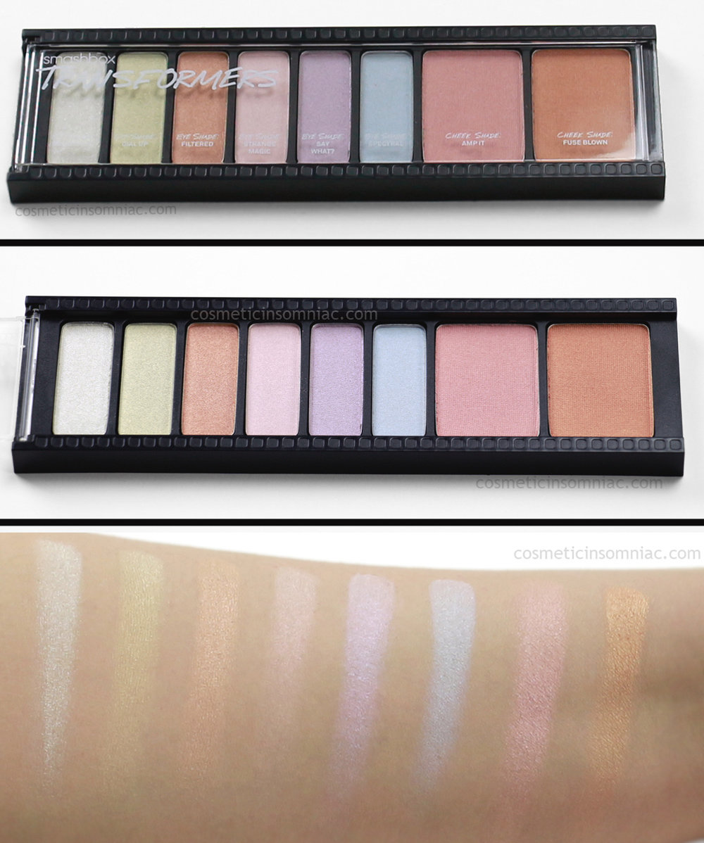 smashbox      Create & Transform Master Class Palette     Transformers